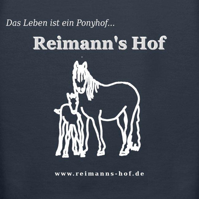 Damen Kapuzenpulli Reimann's Hof -Stute mit Fohlen-