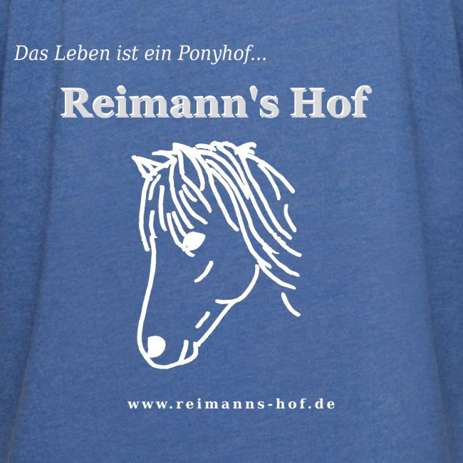 Kapuzenshirt leicht 'Ponykopf'
