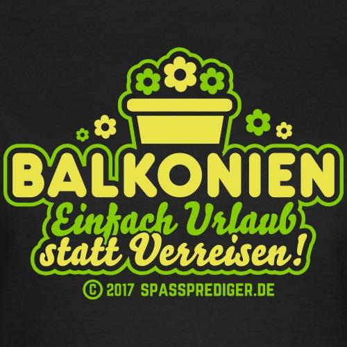 Balkonien: Einfach Urlaub statt Verreisen!