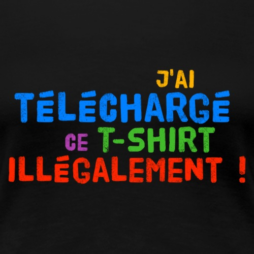T-shirt illégal