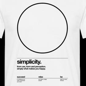Design ~ circle, simplicity (Helvetica)
