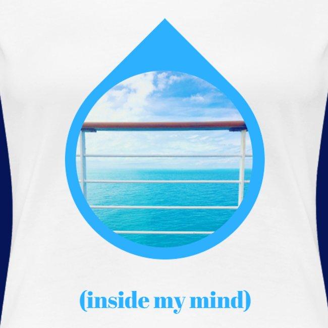 'Sea Mind' Womens T-Shirt