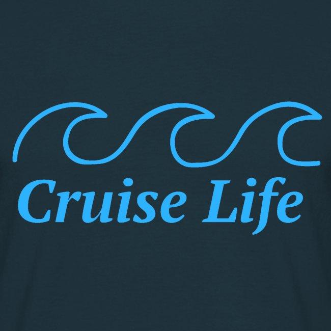 'Cruise Life' Mens T-shirt