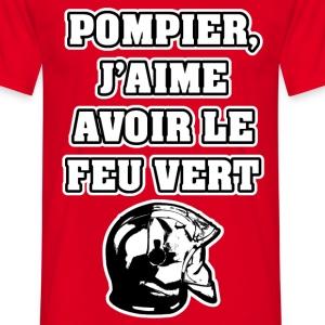 POMPIER, J'AIME AVOIR LE FEU VERT - JEUX DE MOTS