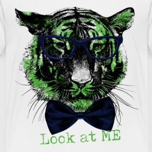 Tigerkopf_Look at me - Kinder Premium T-Shirt