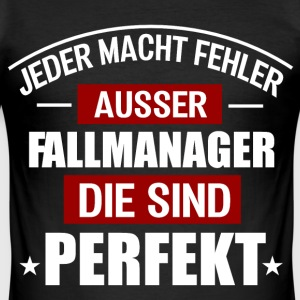 FALLMANAGER T-Shirts - Männer Slim Fit T-Shirt