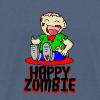 Happy Zombie - Männer Premium T-Shirt