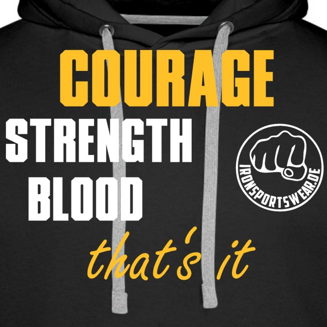 CourageStrengthBlood