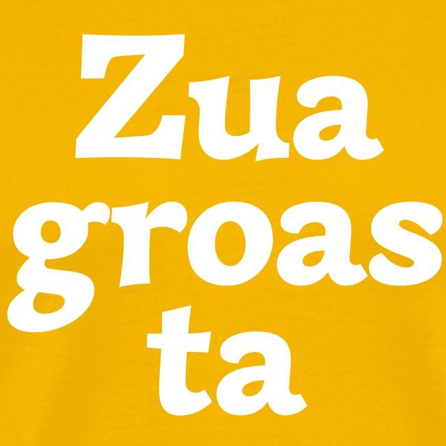 Grantl-Shirt Zuagroasta goldgelb