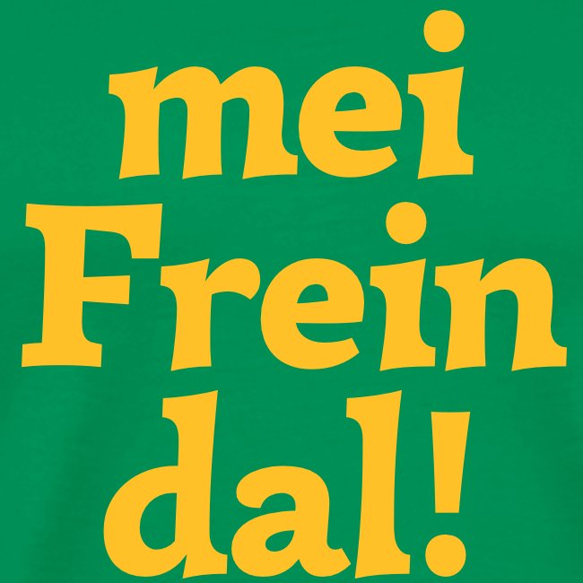 Grantl-Shirt mei Freindal braun