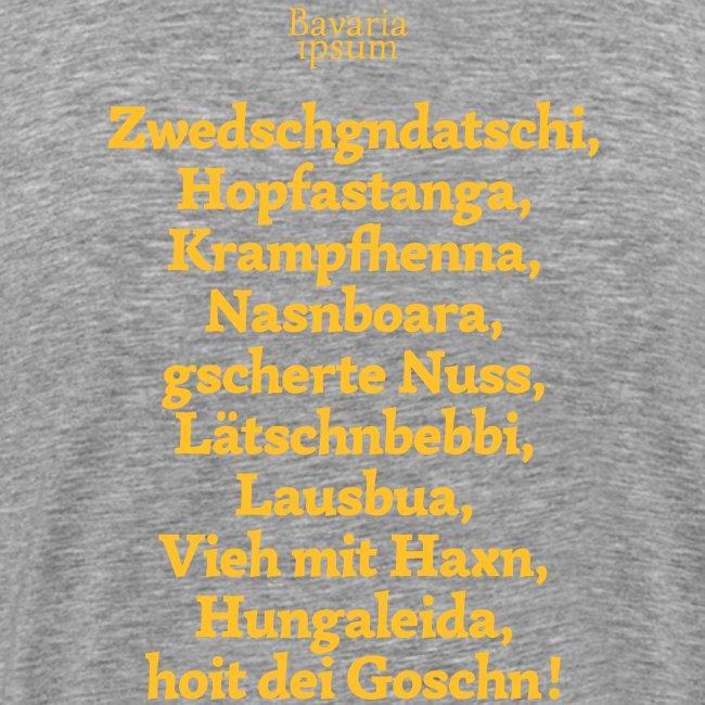 Grantl-Shirt #3 braun