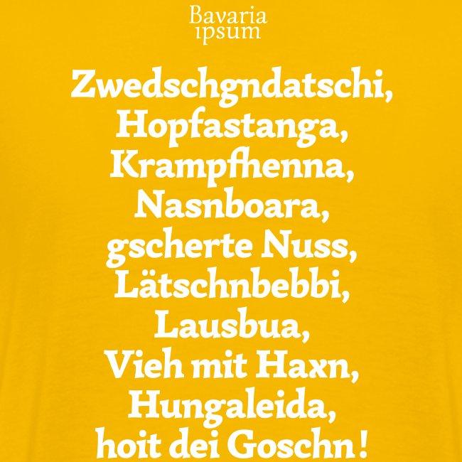 Grantl-Shirt #3 goldgelb