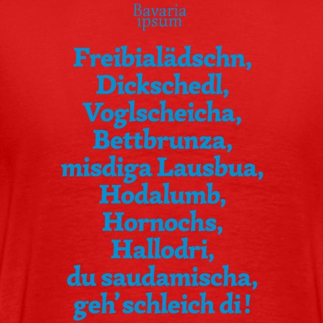Grantl-Shirt #2 weiß-blau
