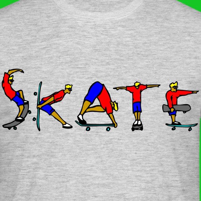 Skate heren t-shirt