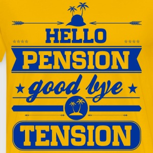 Hello Pension T-Shirts - Männer Premium T-Shirt
