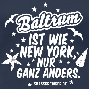Baltrum T-Shirts - Frauen Premium T-Shirt