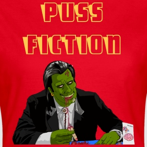 Puss Fiction - Women's T-Shirt