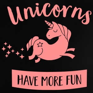 Unicorns have more fun Baby T-shirts - Baby T-shirt