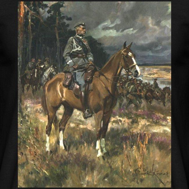 Piłsudski na kasztance - koszulka kolorowa