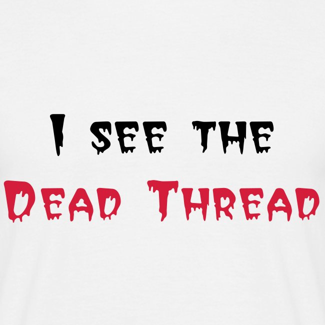 Dead Thread (black and red)
