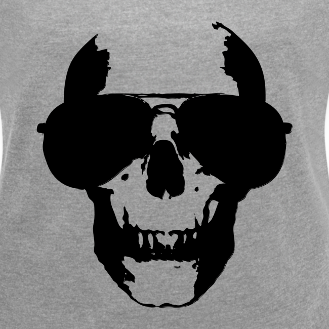 "SKULL GLASSES - ""black"" T-Shirts"