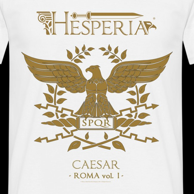 HESPERIA Caesar (Roman Eagle 1st version)- Shirt white
