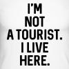 Not A Tourist -  Herren Baseball Langarmshirt - 100% Baumwolle - #LVEBBG - Männer Baseballshirt langarm