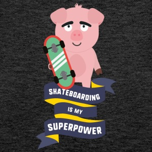 Skateboarding is my Superpower Saido Tops - Women's Premium Tank Top