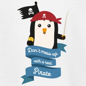 Dont mess up with a pirate Stsvi Shirts - Kids' T-Shirt
