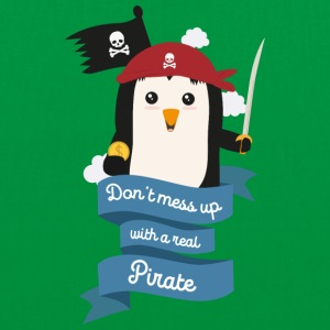 Dont mess up with a pirate Stsvi Bags & Backpacks - Tote Bag