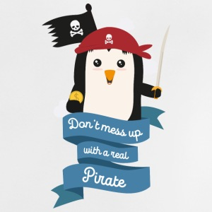 Dont mess up with a pirate Stsvi Baby Shirts  - Baby T-Shirt