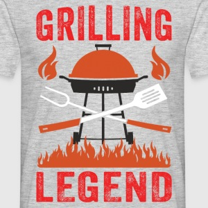 Grilling Legend T-Shirts - Men's T-Shirt