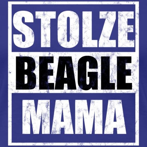 Stolze Beagle Mama