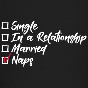 Single, in a relationship, Married, naps Långärmade T-shirts baby - Långärmad T-shirt baby