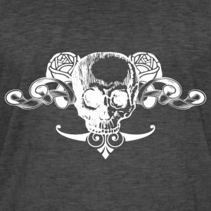 Skull 03 Tee shirts - T-shirt vintage Homme