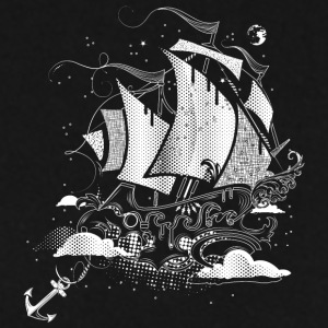 Sailing ship above the clouds Hoodies & Sweatshirts - Men's Sweatshirt