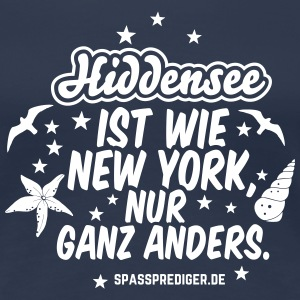 Hiddensee T-Shirts - Frauen Premium T-Shirt