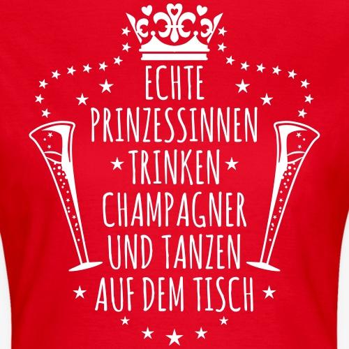 37 Echte Prinzessinnen trinken Champagner JGA