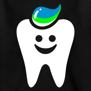 Schwarz zahn tooth punk - for black shirts Kinder T-Shirts - Teenager T-Shirt
