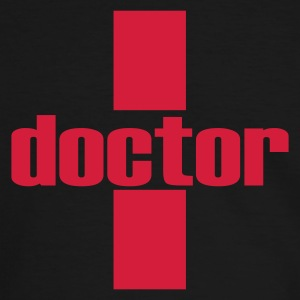 doctor Tee shirts - T-shirt contraste Homme