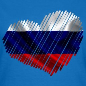 flag russia painting Tee shirts - T-shirt Femme