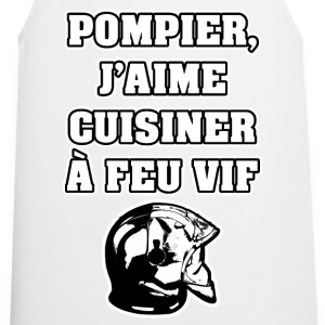 POMPIER, J'AIME CUISINER À FEU VIF - JEUX DE MOTS