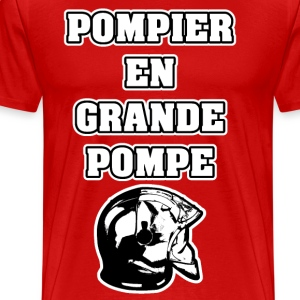 POMPIER EN GRANDE POMPE - JEUX DE MOTS