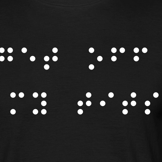Get off my tits (in braille)