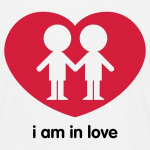 i am in love - Mannen T-shirt