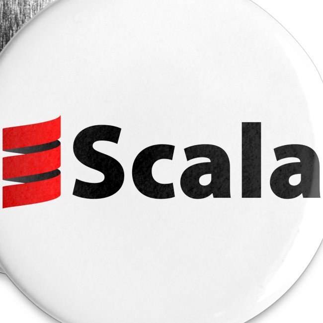 32mm Button with Scala Logo