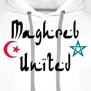 Sweat homme Maghreb United !  - Sweat-shirt à capuche Premium pour hommes