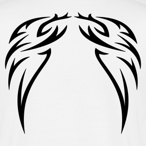 tattoo wings - Herre-T-shirt