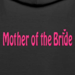 Black Mother of the Bride Jumpers  - Women's Premium Hoodie