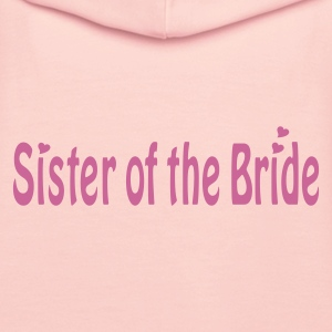 Lyserosa Sister of the Bride Gensere - Premium hettegenser for kvinner